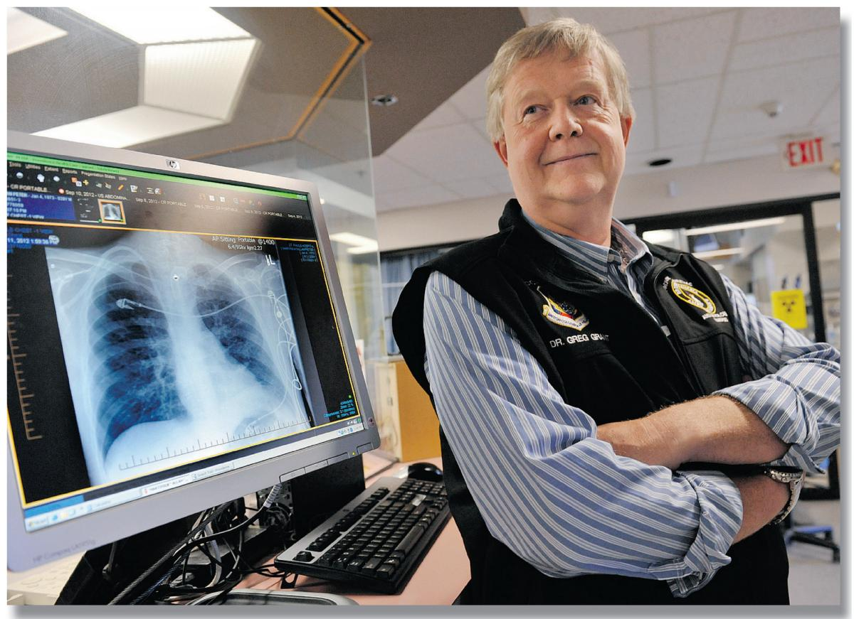 Greg Grant is an ICU doctor at St. Paul's and the head of B.C. Transplant.