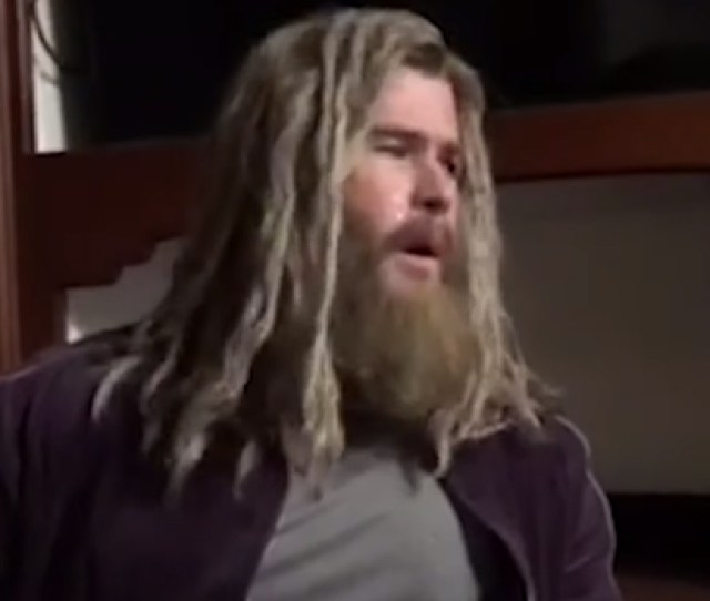 Actor Chris Hemsworth Takes On Nine Inch Nails Hurt As Fat Thor On The Tonight Show With Jimmy Fallon
