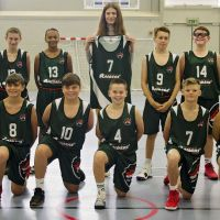Plymouth Raiders Development get brand new kit, created by local fashion designer Jade Rogers