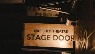 Exeter Bike Shed Theatre Stage Door