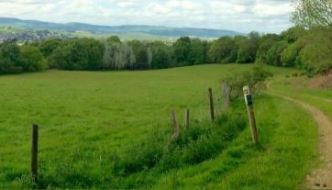 image from the iron-age hill fort sound walk
