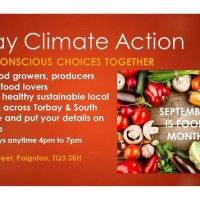 Torbay Climate Action puts food into focus for September