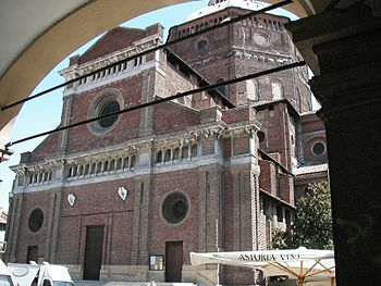 Cathedral of Pavia.