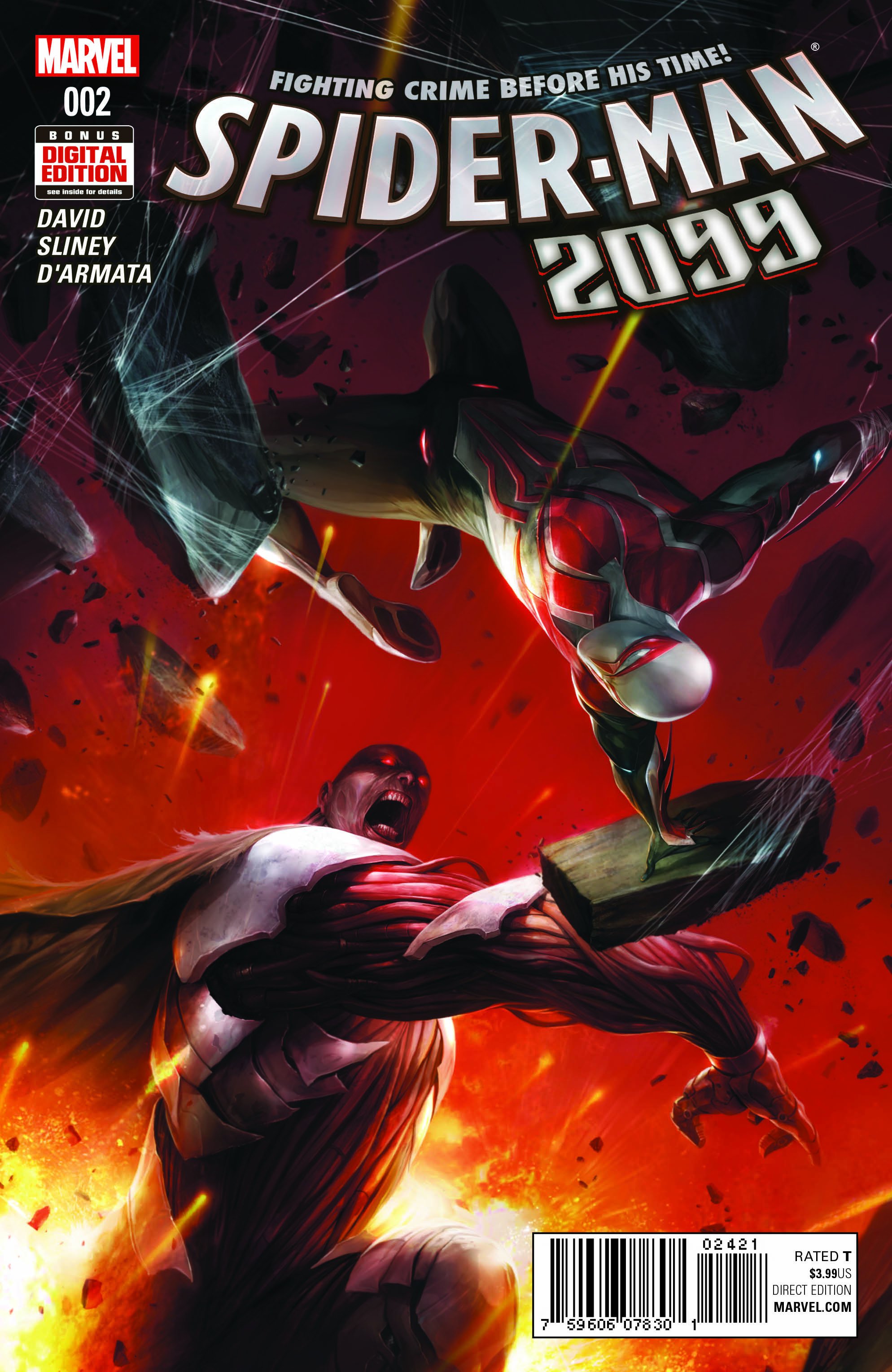 Pullbox Previews: Spider-Man 2099 #2 - The PullBox