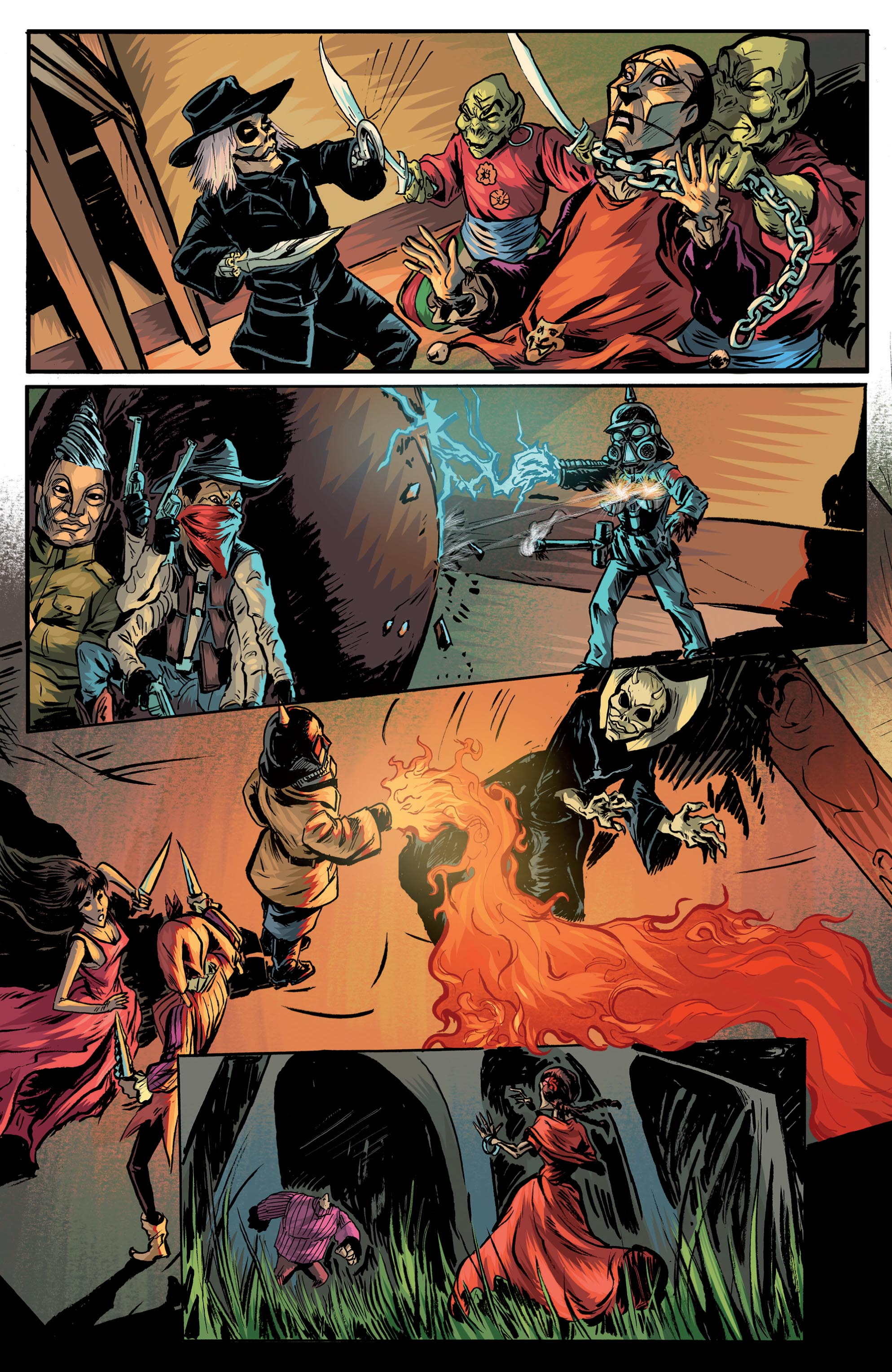 Pullbox Previews Puppet Master Curtain Call TPB The PullBox