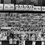 In November 1938, pulps are among the magazines for sale at this stand in Omaha, Neb.