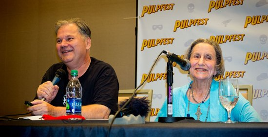 Guest of Honor and artist Gloria Stoll Karn talks with David Saunders about her career in the pulps.