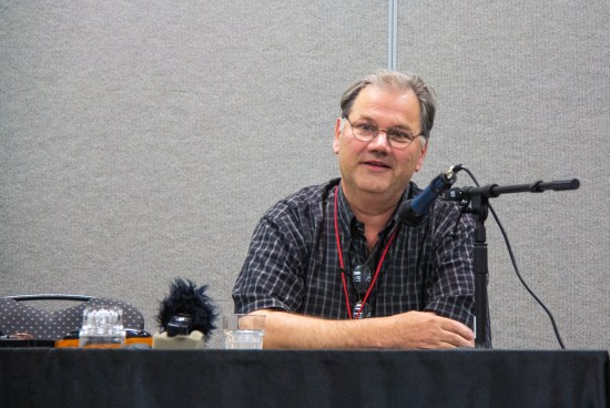 Pulp art historian David Saunders