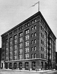 Street & Smith's six-story offices in New York City.