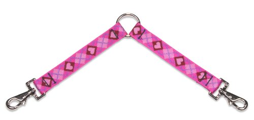 Lupine Coupler for Larger Dogs, 1-Inch Wide by 24-Inch Long, Puppy Love