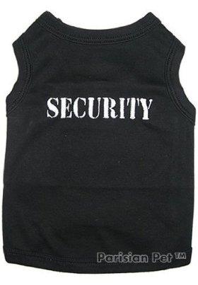 Parisian Pet Security Dog T-Shirt, X-Small