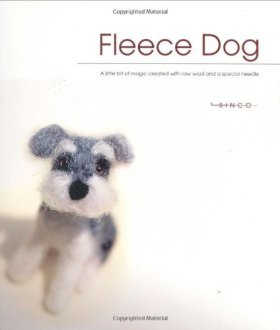 Fleece Dog: A Little Bit of Magic Created with Raw Wool and a Special Needle