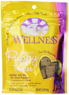 Wellness Just For Puppy Treats, 3.5 oz. Pouch