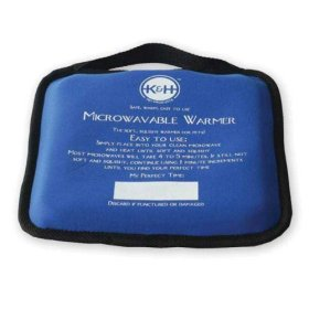 K&H Microwavable Pet Bed Warmer, 9-Inch x 9-Inch