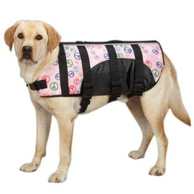 Guardian Gear ZM3036 12 32 Printed Pet Preserver, Small, Peace Sign