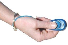 The Company of Animals Clix Multi-Clicker, Blue