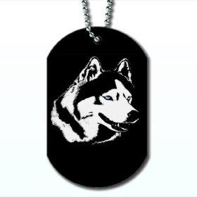 Blue Eye Husky – Dog Tag Necklace