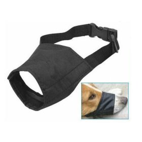 TOOGOO Adjustable Dog Puppy Safety Muzzle Stop Biting Barking Nipping Chewing