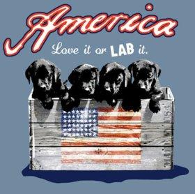 Blue Fox Lullaby Three Black lab Puppies Wood Plaque