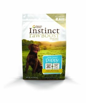 Nature's Variety Instinct Raw Boost Large Breed Puppy Chicken Meal Formula Dry Dog Food