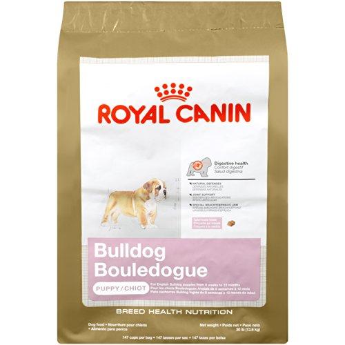 Royal Canin Bulldog Puppy Dry Dog Food, 30-Pound Bag