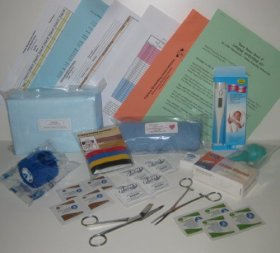 Whelping Kit 4 for Dogs Puppies – Basic