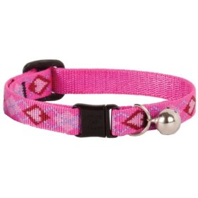 Puppy Love – Lupine Adjustable Safety Collars for Cats with Bell – 1/2″ x 8″ – 12″