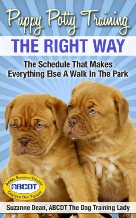 Puppy Potty Training THE RIGHT WAY: The Schedule That Makes Everything Else A Walk In The Park (Ultimate Dog Care Book 1)