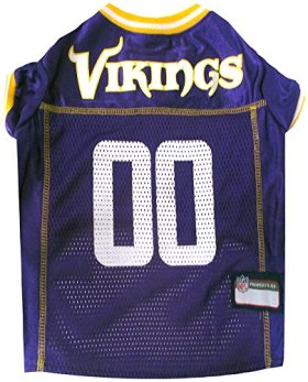 Pets First NFL Minnesota Vikings Mesh Jersey, X-Large