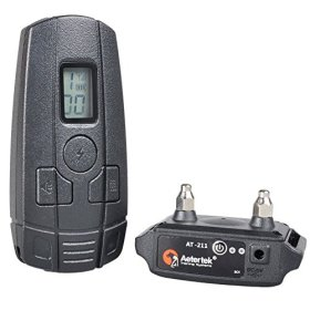 Luxmo Remote Control Dog Training Collar Vibration Ultrasound and Corrective Shock for One Small Puppy Dogs