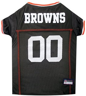 Pets First NFL Cleveland Browns Jersey Apparel for Pets, X-Large