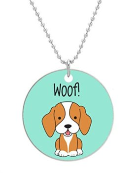 BEAGLE HAPPY PUPPIES – Custom Dog Tag Necklace