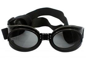 Enjoying Dog UV Protection Goggles Pet waterproof Sun Glasses For Large Pets – Black