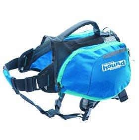 Outward Hound 22005 DayPak Dog Backpack Adjustable Saddlebag Style Dog Accessory, Large, Blue