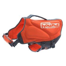 Outward Hound Kyjen  22023 Pup Saver Neoprene Dog Life Jacket, X-Small, Orange