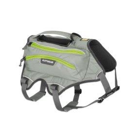 Ruffwear Singletrak Pack for Pets, Large/X-Large, Cloudburst Gray