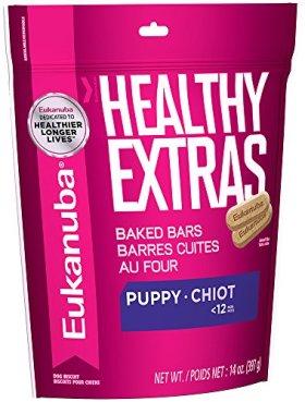 EUKANUBA HEALTHY EXTRAS Puppy Growth Treats for Puppies 14 Ounces