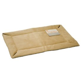 K&H Manufacturing Self-Warming Crate Pad Tan 14-Inch by 22-Inch