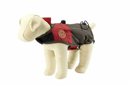 Henry and Clemmies Dog All-Weather Jacket, Small, Red