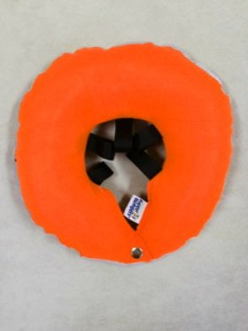 Puppy Bumpers Glow Pup BumperTM Now Protect Your Pup Night and Day – Orange Large