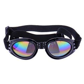 ZN Pet Dog Goggles UV Sunglasses Sun Glasses Fashion Eye Wear Protection Color Black