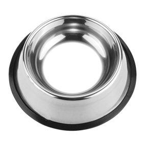 BB Gossip Non Slip Stainless Steel Pet Dog Puppy Food Water Bowl Dish Pet Bowl