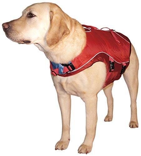 Kurgo Dog Life Jacket, Red/Red, Large