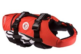 EzyDog Doggy Flotation Device (DFD), Medium, Red
