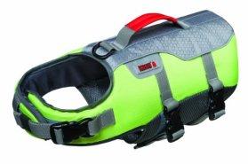 Future Sports Products International KONG SPORT Aqua Float Flotation Vest for Dogs, Small, Green