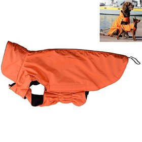 AGPtek Universal Waterproof Fleece Pets Dogs Clothes Soft Cozy Outdoor Winter Padded Vest Coat Jacket For Dogs XLLL