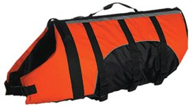 Guardian Gear Aquatic Dog Preserver, X-Small, 10-Inch, Orange