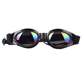 Sunward Fashion Dog Pet Sunglasses Eye Wear UV Protection Goggles Sun Glasses (Black)