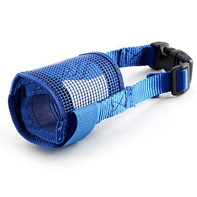 BuW Pet Muzzle for Dogs ( Blue) online pet store funny dog clothes do dogs need clothes