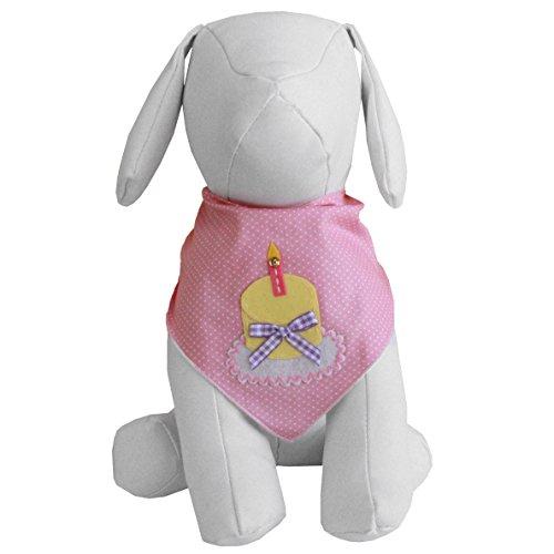 Birthday Girl Dog Bandana (Medium)